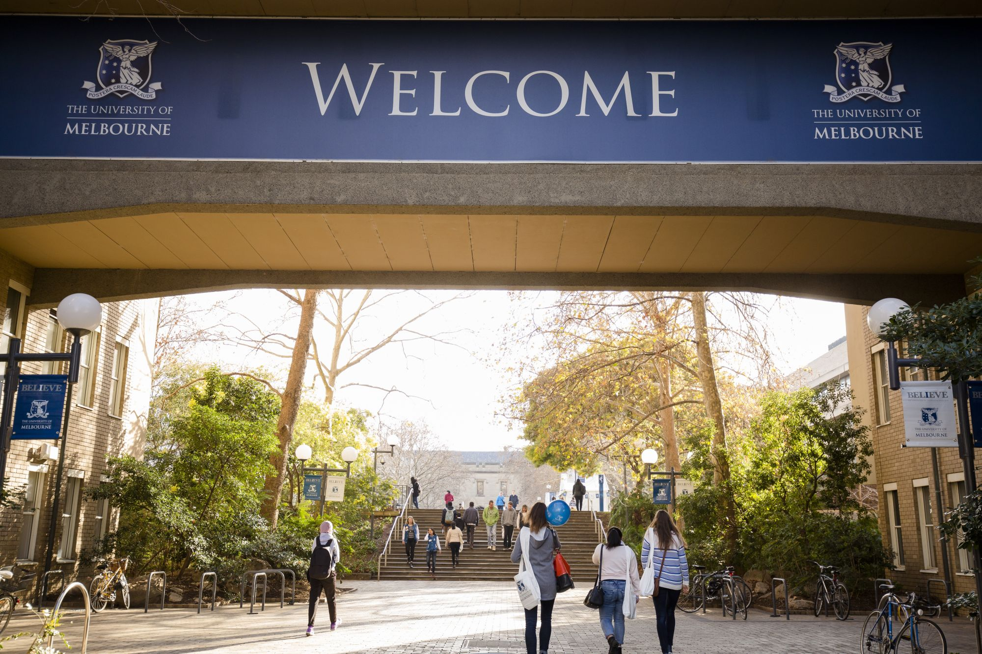 University of Melbourne - Welcome